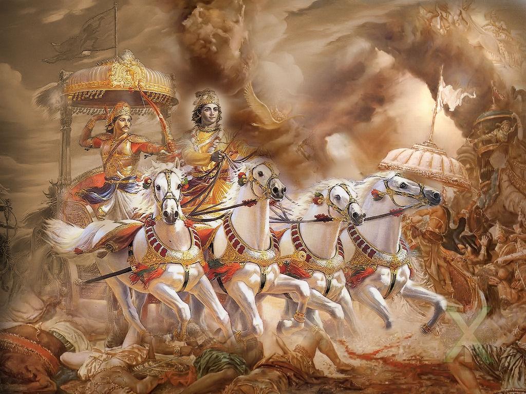 Bhagavad Gita Hindu Wallpapers 1024x768