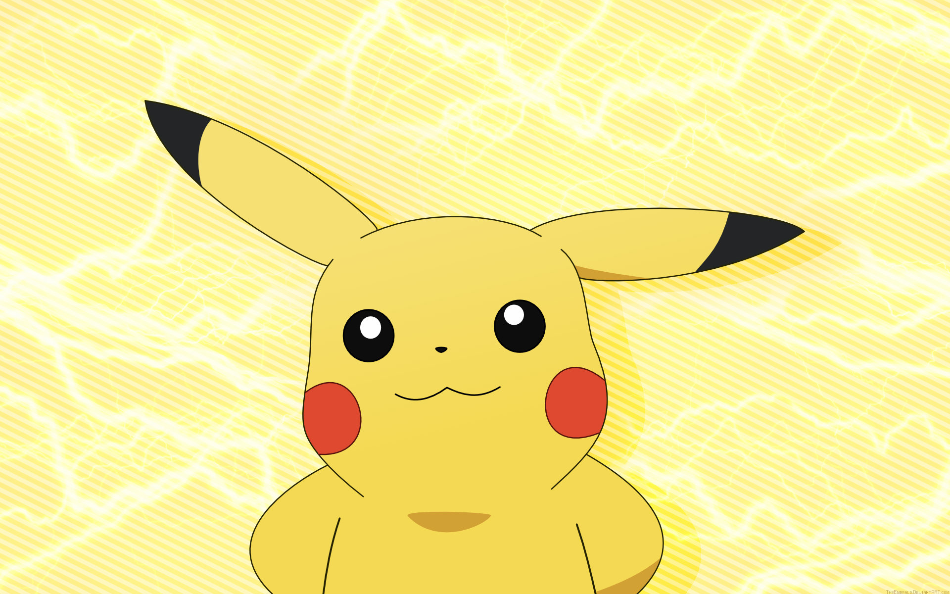 Pikachu HD Wallpapers Pokemon Wallpapers Cartoons HD 1920x1200