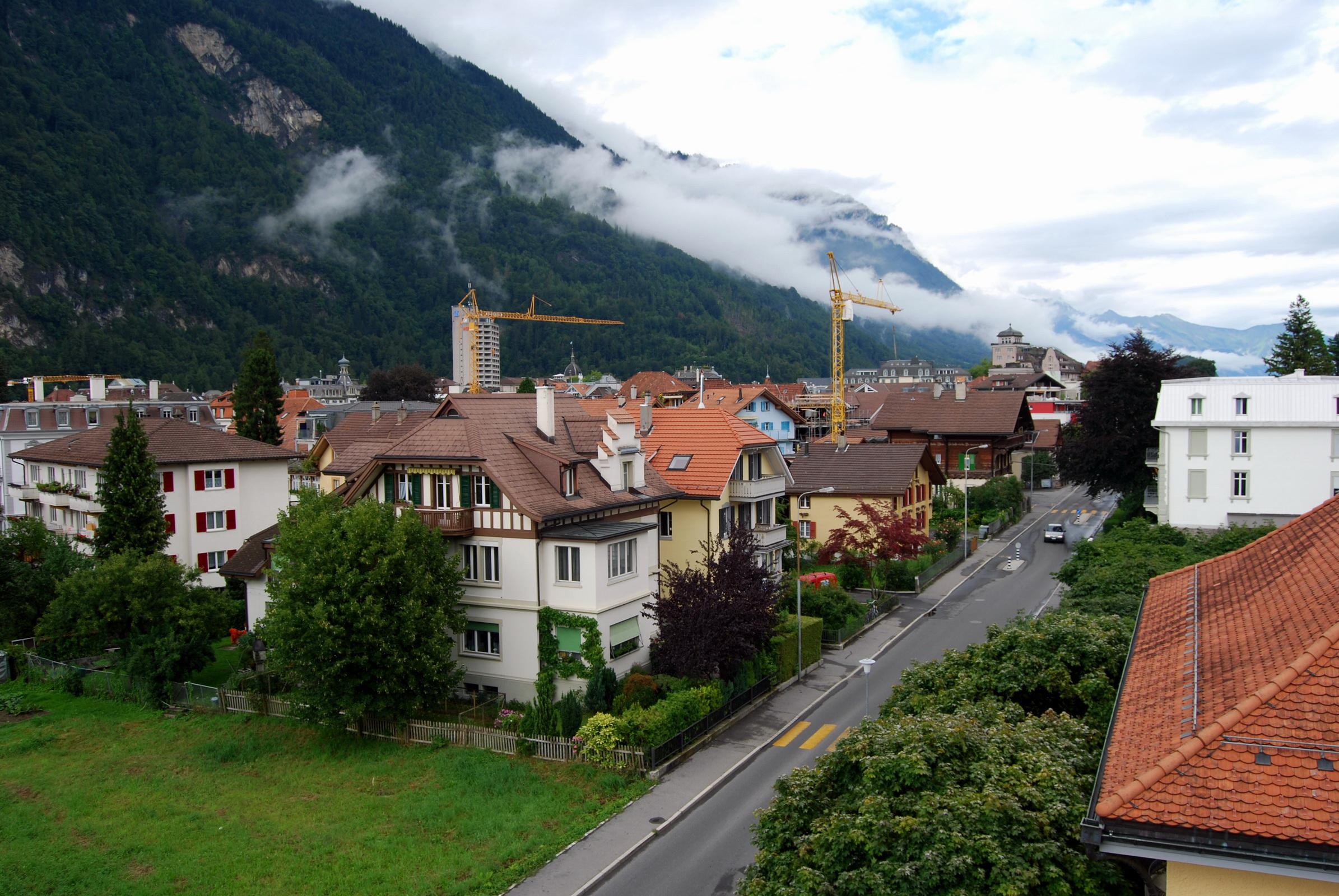 Interlaken Switzerland HD Wallpaper Background Image 2390x1600