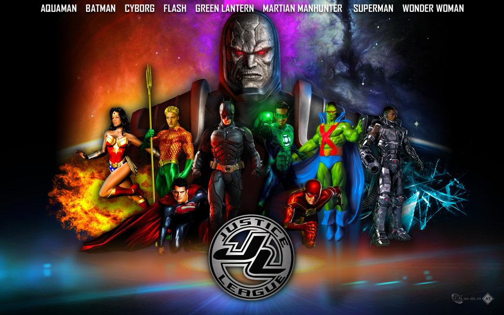 Justice League Movie Wallpaper V2 by lesajt 1024x640
