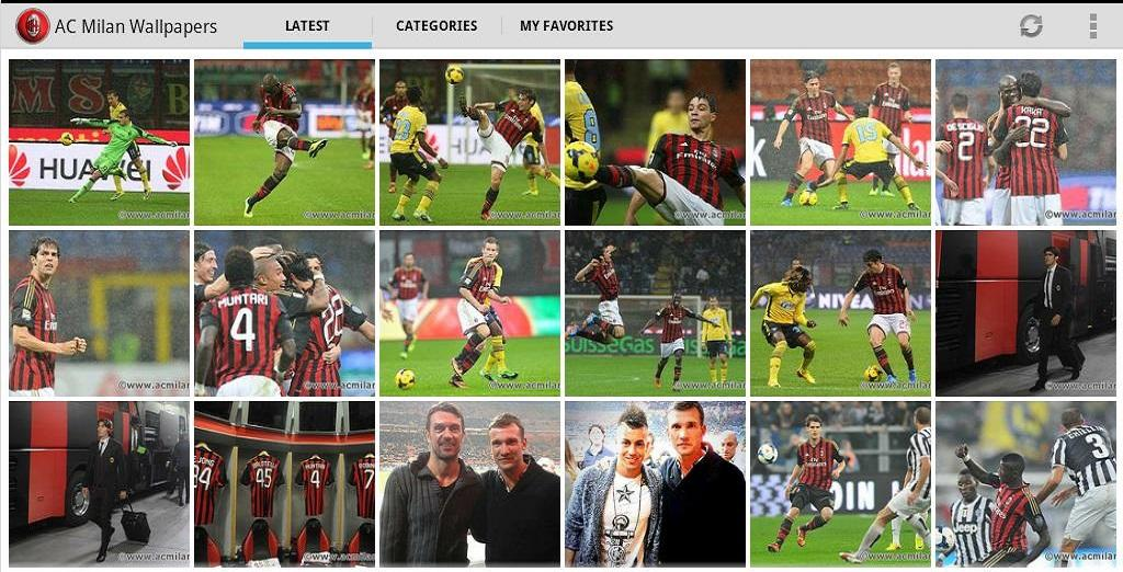 Download AC Milan Wallpapers for android AC Milan Wallpapers 20 1024x522