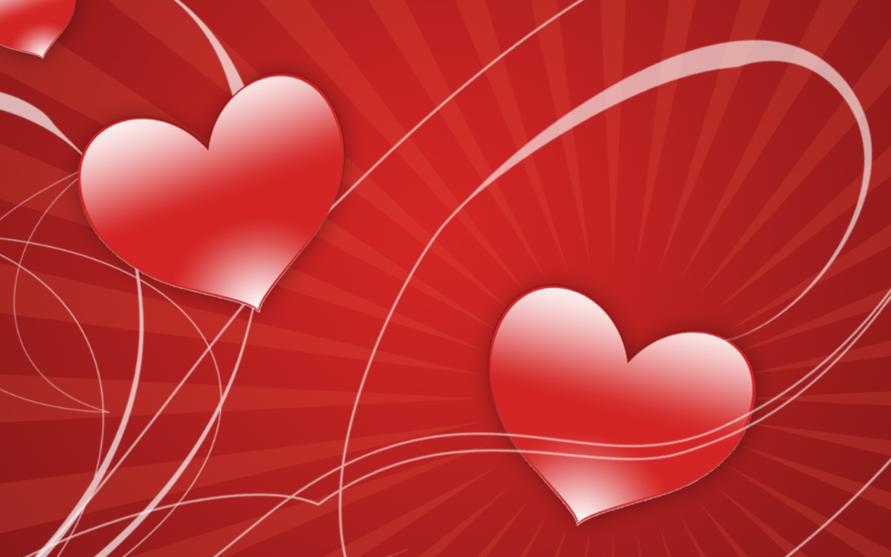 Red Love Heart Wallpaper Images amp Pictures   Becuo 1800x1125