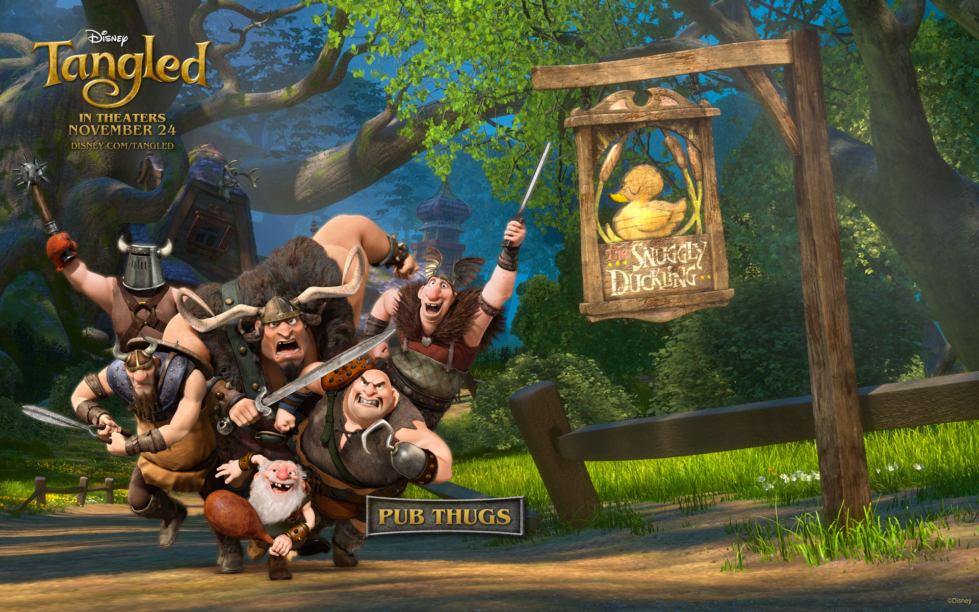 Pub Thugs from Tangled wallpaper   Click picture for high resolution 1920x1200