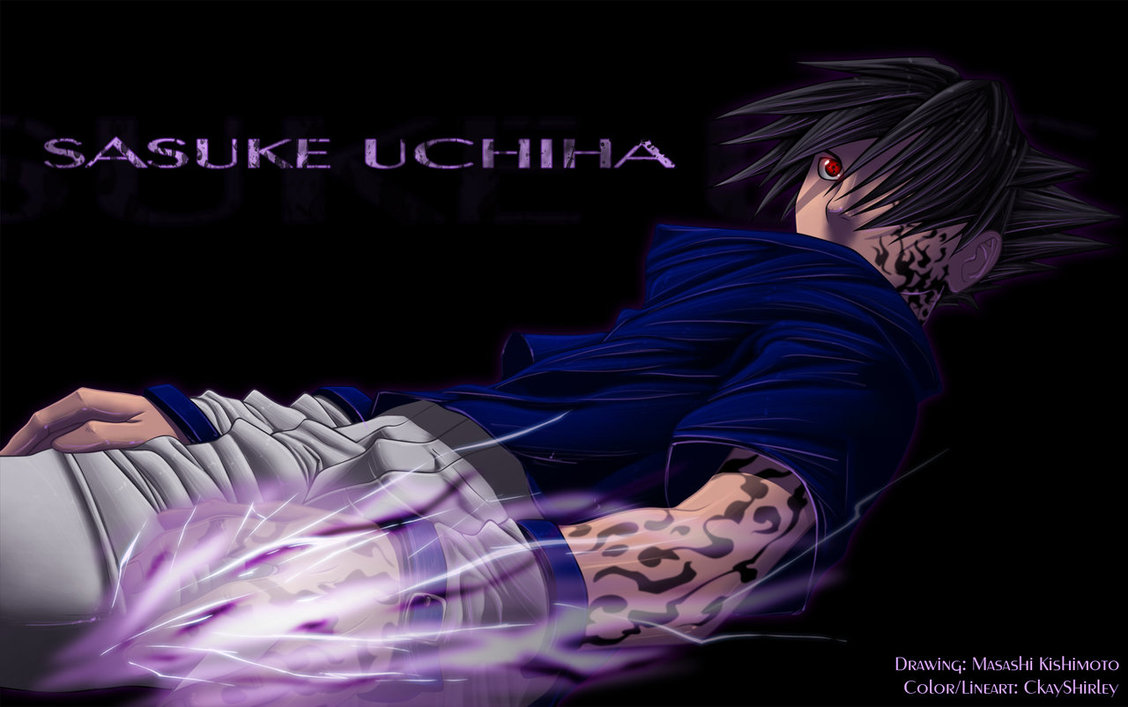 Cursed Mark Sasuke by CkayShirley 1128x707