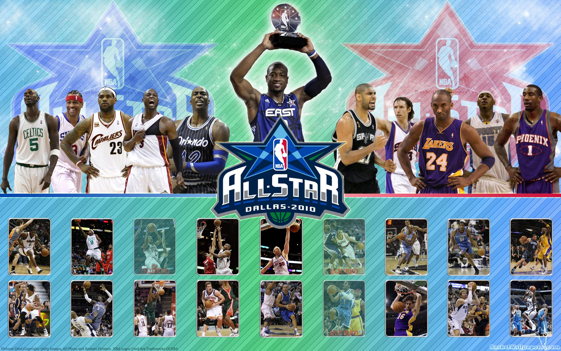 Nba team wallpapers wallpapersafari - Nba all teams wallpaper ...