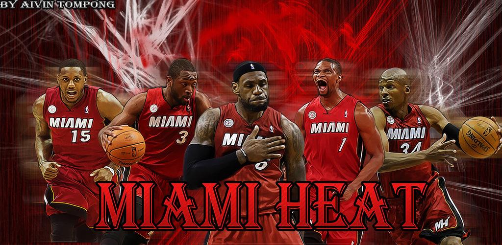 Miami Heat Wallpaper 2013 by aivinkhalifa 1024x501