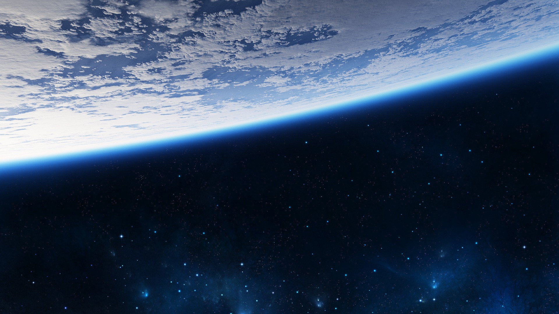 Earth from space wallpaper 1920x1080 wallpapersafari for From outer space