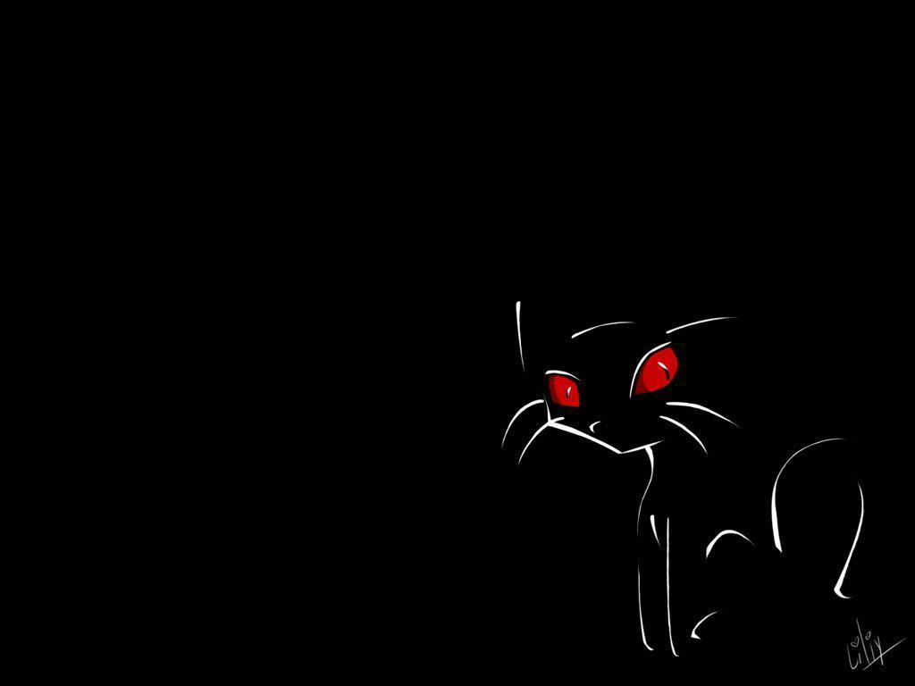 Black Cat Gothic Wallpaper For IPhone Wallpaper WallpaperLepi 1024x768