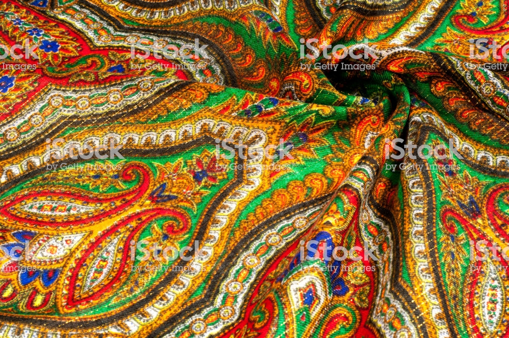 Texture Background Pattern Womans Headscarf Shawl Bright Colors 1024x680