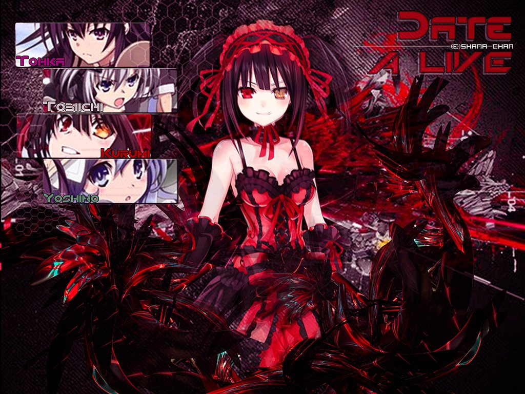 Date A Live Background Wallpaper for PCLaptop by CiellyPhantomhive on 1024x768