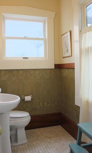 wallpaper wainscoting Home Interior Pinterest 300x500