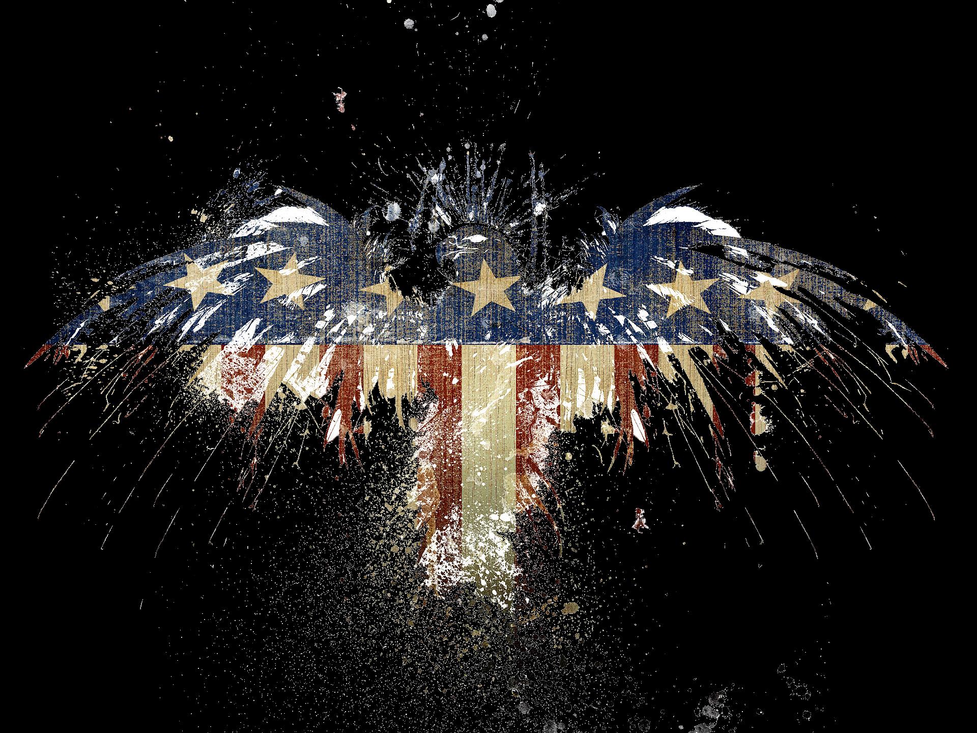 Pin American Flag Eagle Wallpaper 1920x1440