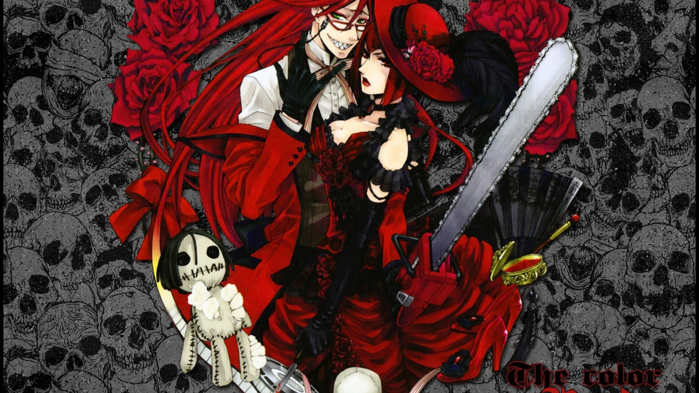 1366x768 Anime Manga Kuroshitsuji Kuroshitsuji Manga 1366x768