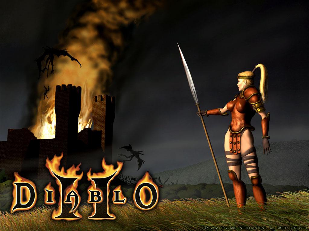 Diablo 2 Wallpaper Diablo Wallpaper 18654371 1024x768