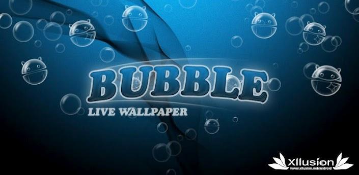Bubble Live Wallpaper APK for Android   Tech Trip 705x345