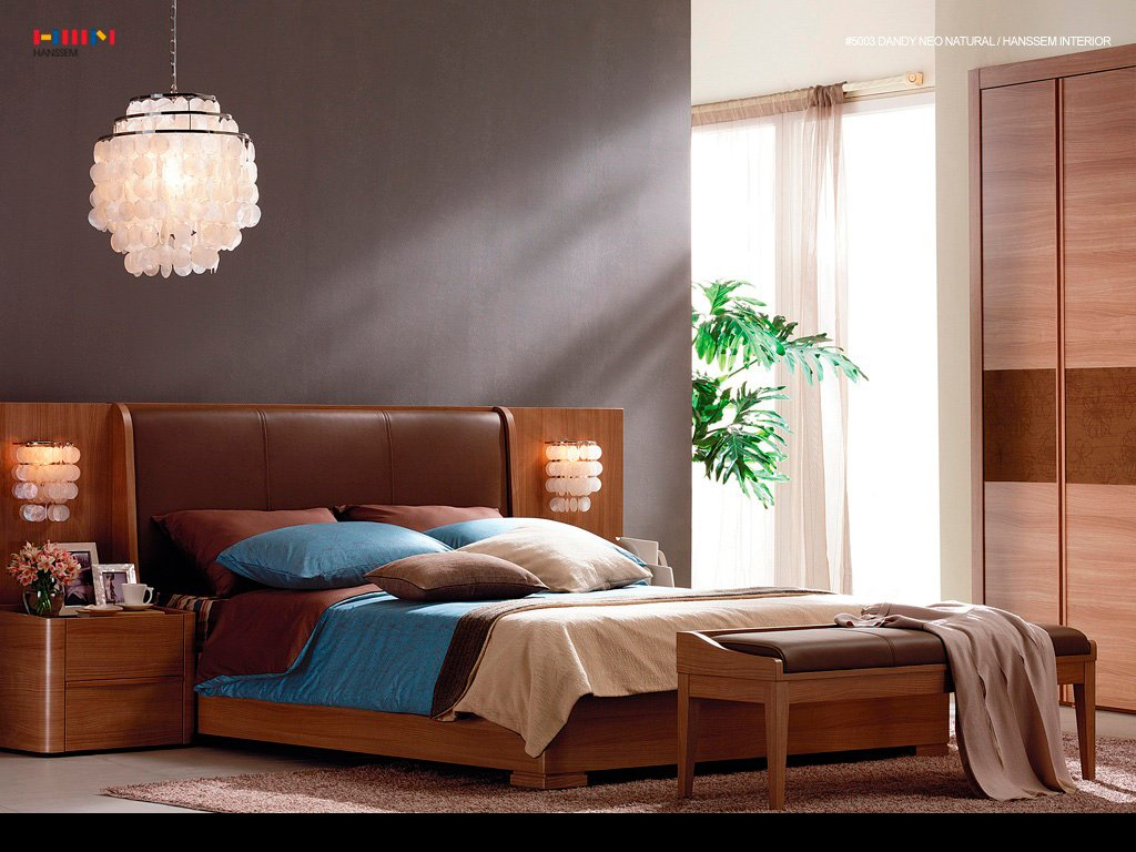 Wallpaper Bedroom Interior Design Wallpaper Ideas   Home Design Ideas 1024x768