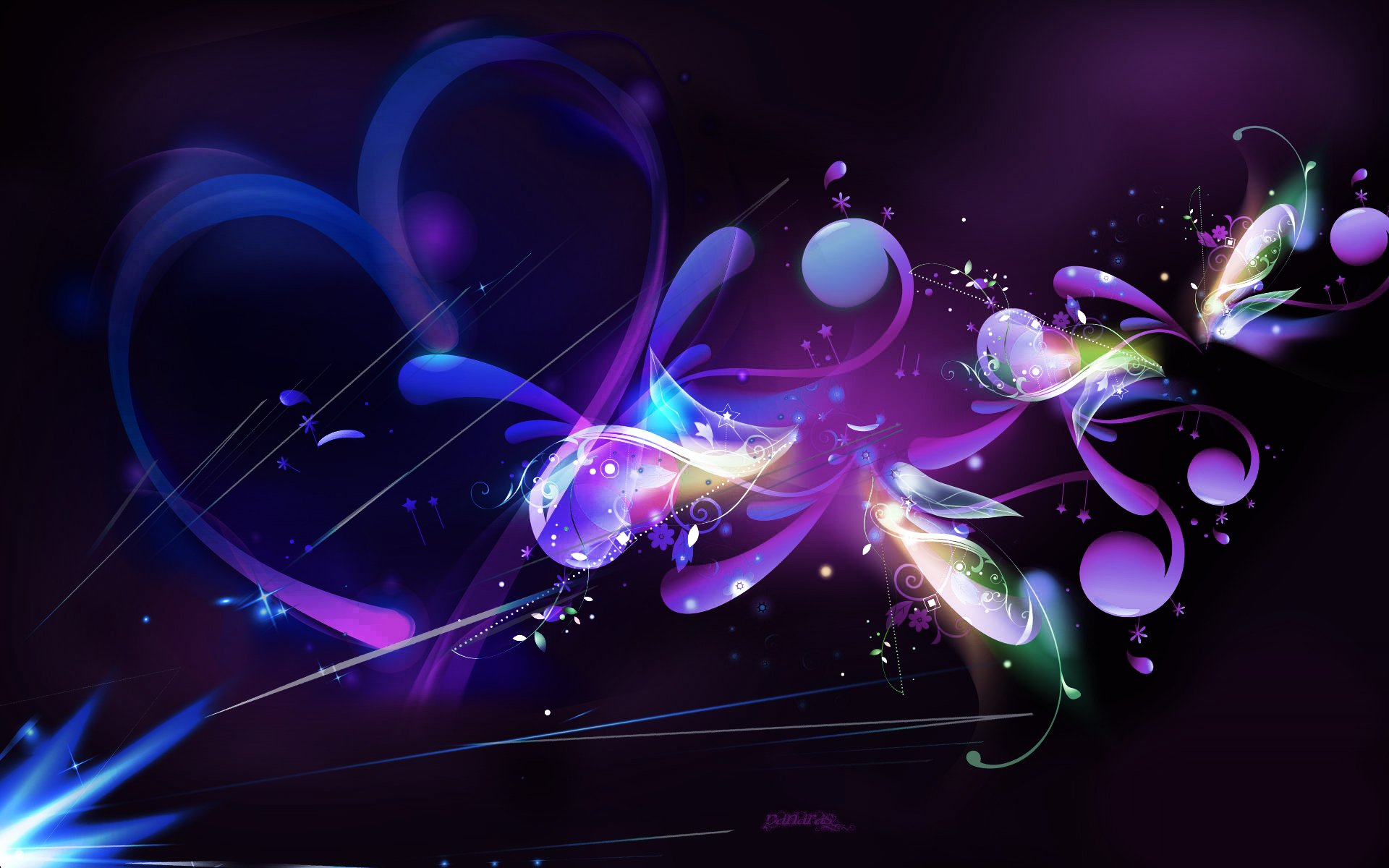 Purple Abstract   Wallpaper 202 1920x1200
