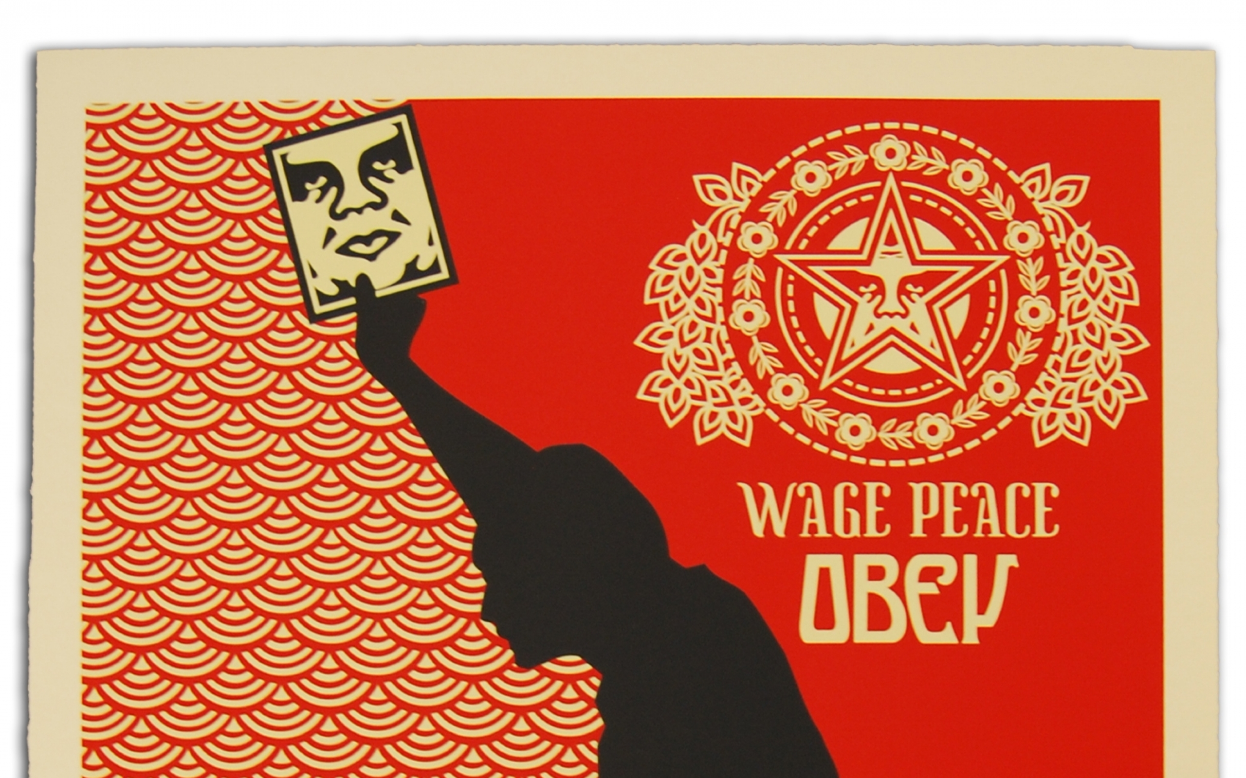 obey ak47 shepard fairey 1556x2263 wallpaper Art HD Wallpaper download 2560x1600
