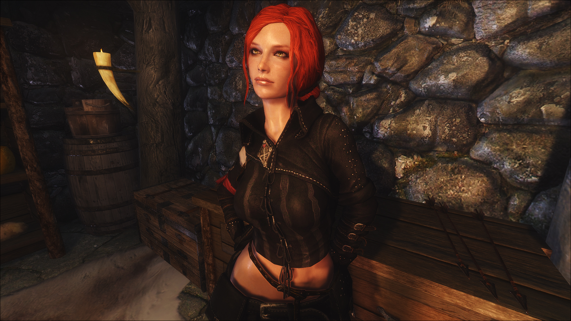 Nude merigold witcher triss 2 doesn't