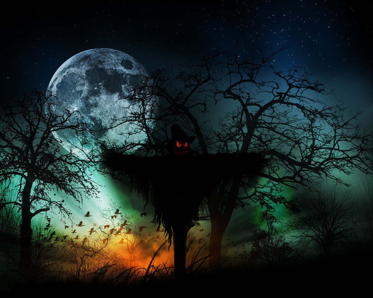 25 Superp Halloween Wallpaper PicsHunger 1280x1024
