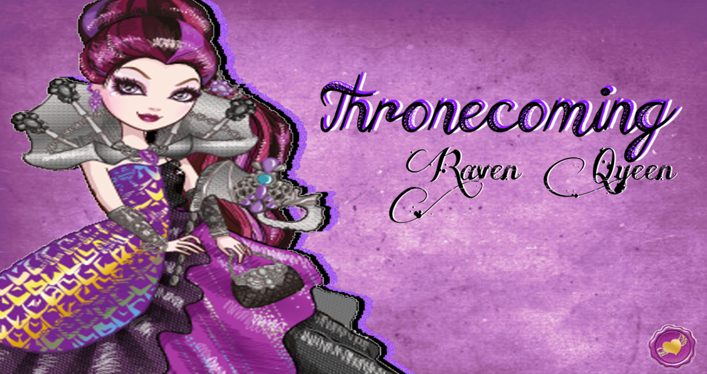 Ever After High Thronecoming Raven Queen Wallpaper by Wizplace on 1024x542