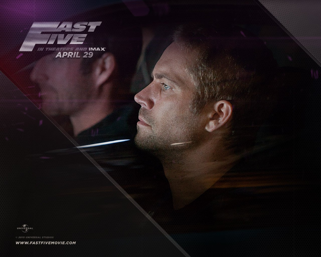Fast Five Latest Trailer and Wallpapers Paul Walker in Fast Five 1280x1024