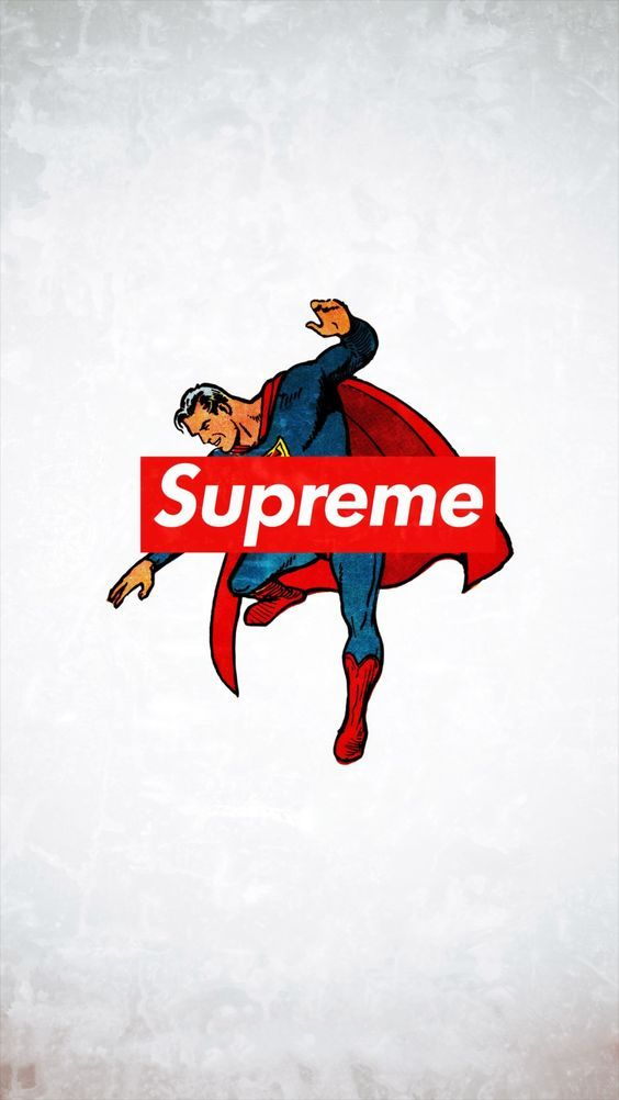 Supreme Trend Logo Film Art iPhone 6 wallpaper Superman in 2019 564x1002