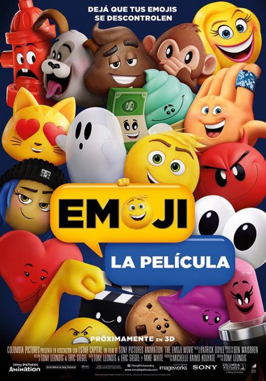 Pster Oficial The Emoji Movie 527x755