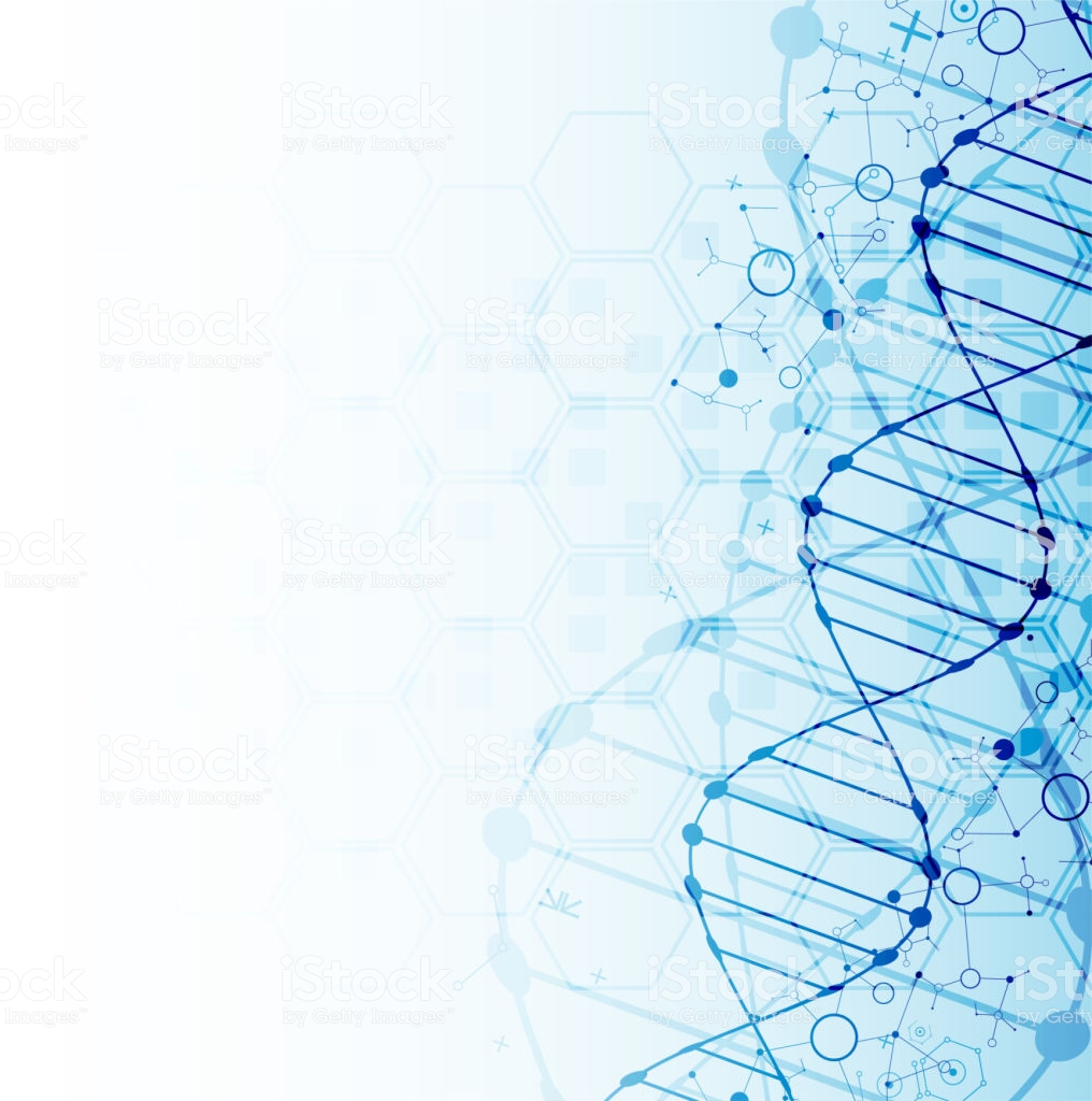 Science Template Dna Molecules Background Stock Illustration 1016x1024
