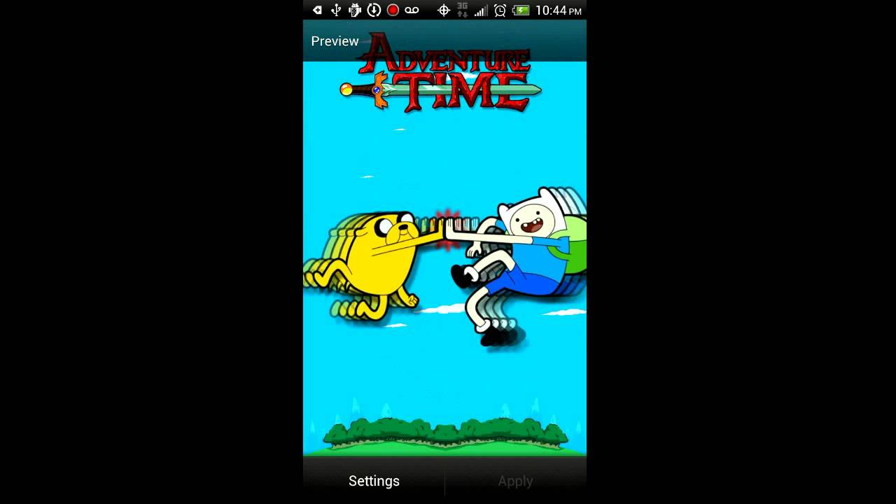 Adventure Time Live Wallpaper