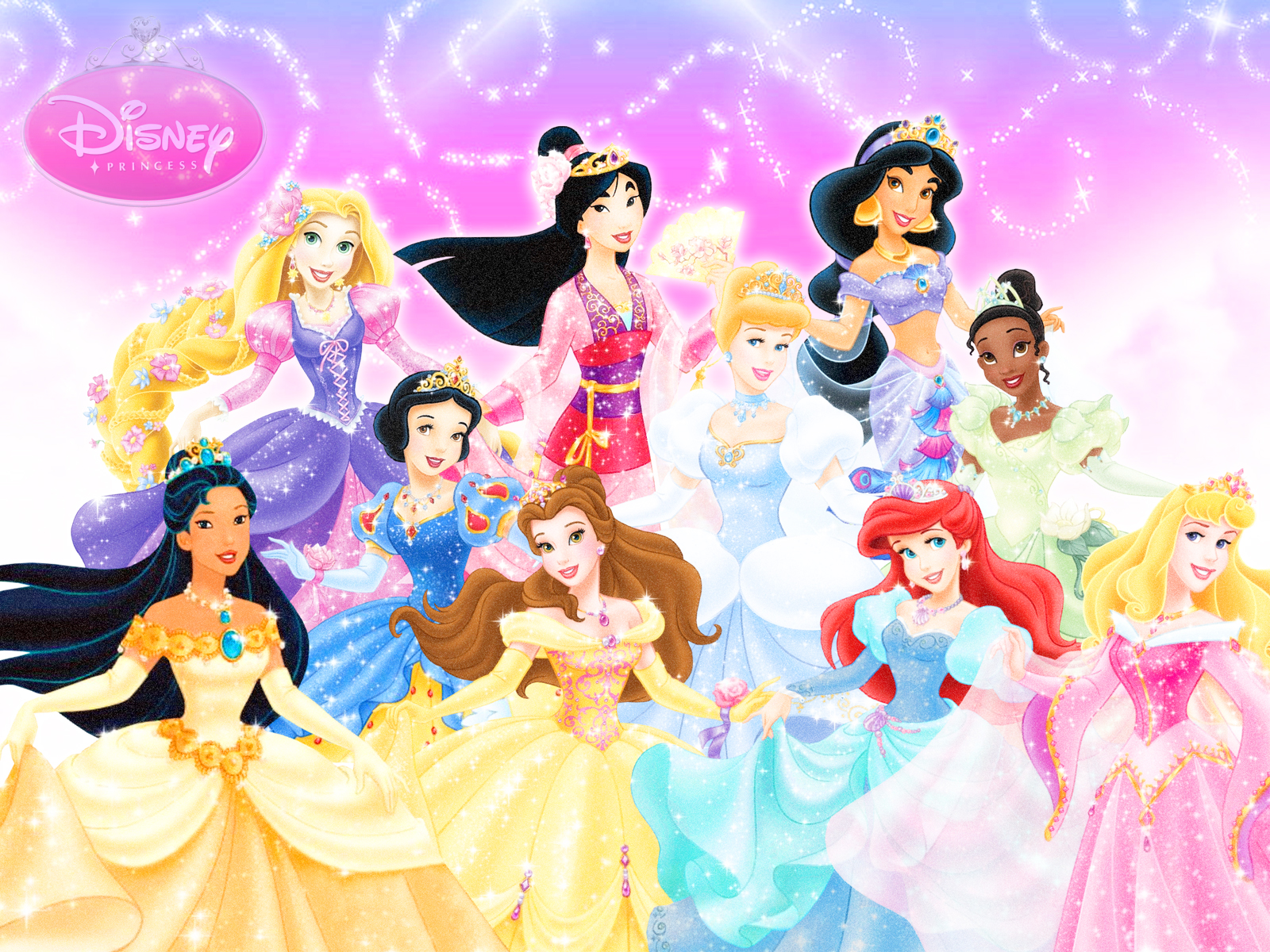Disney Princess images Ten Official Disney Princesses HD 1600x1200
