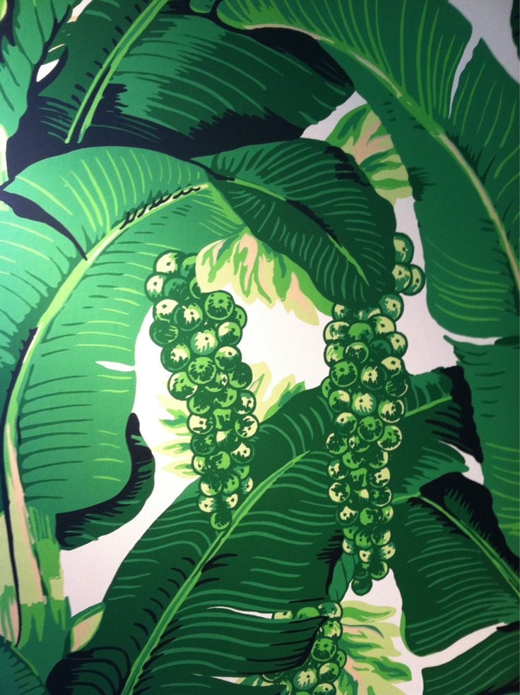 GOING BANANAS THE BRAZILLANCE MARTINIQUE WALLPAPERS agentofstyle 736x985