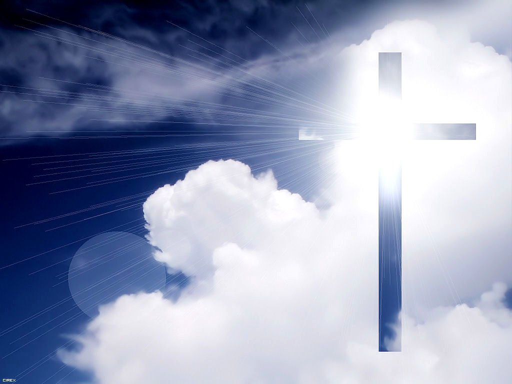 Cross in the Sky Wallpaper   Christian Wallpapers and Backgrounds 1024x768