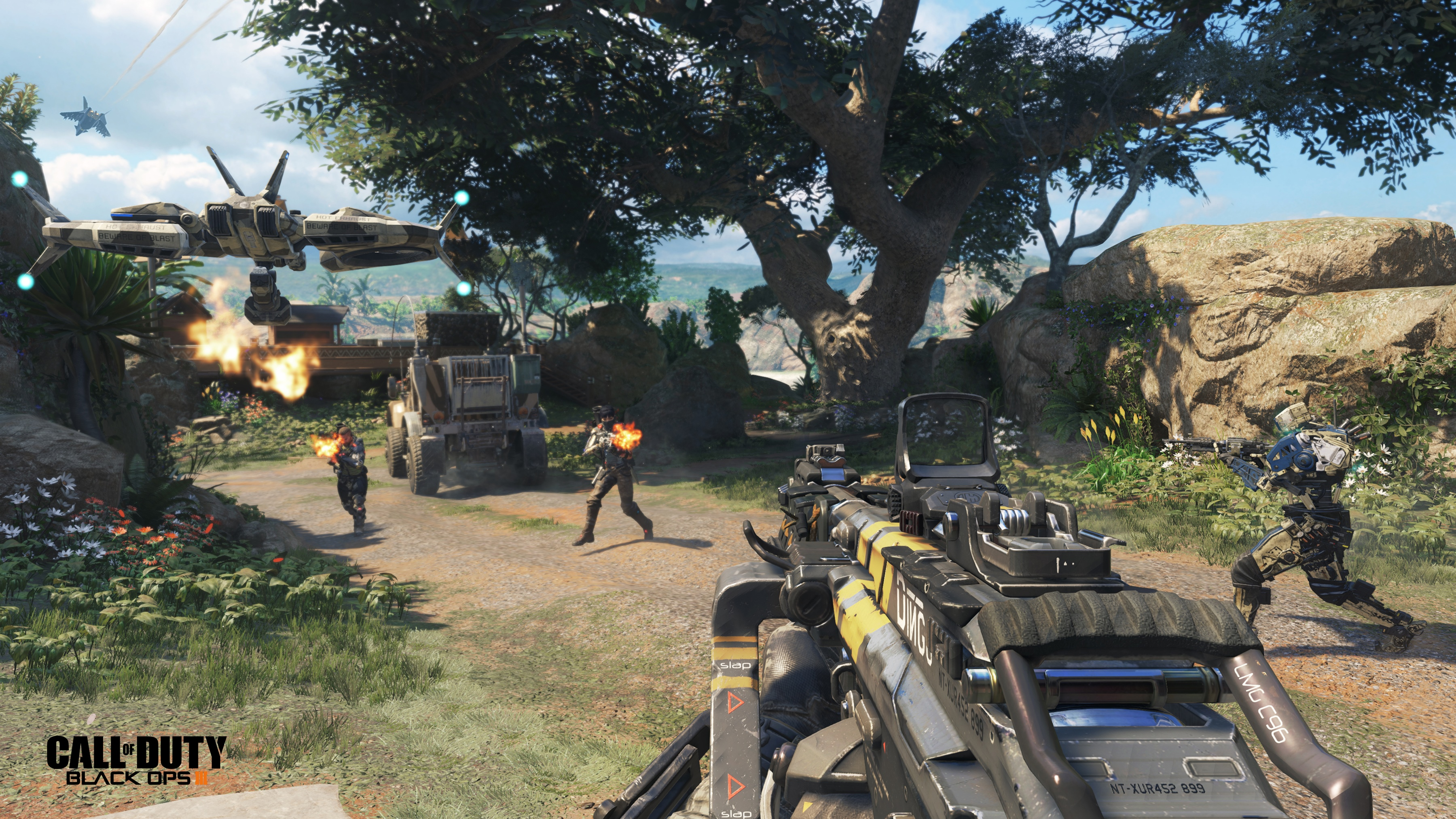 Call of Duty Black Ops 3 Graphics Settings for Beta Build on PC Allow 3600x2025