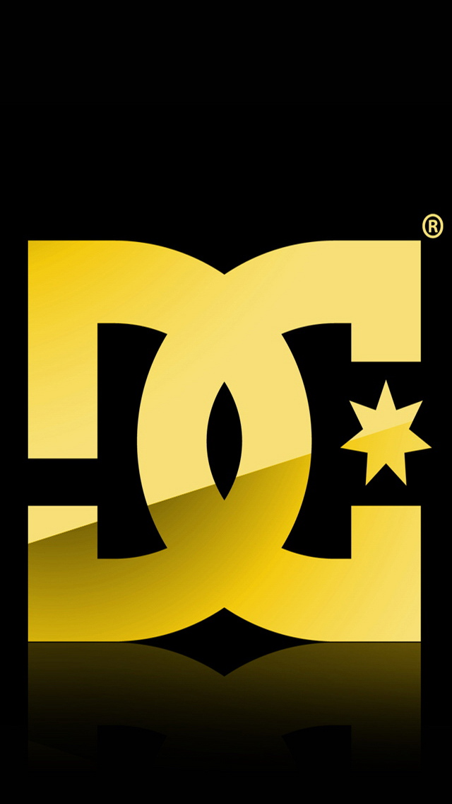 dc shoes logo iphone 5 wallpaper iPhone 5 Wallpaper 640x1136