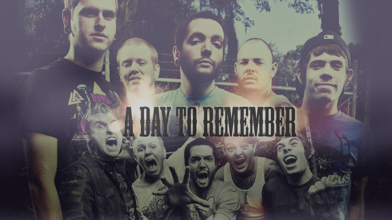Day To Remember Homesick Album Cover Wallpaper Images Pictures 1366x768