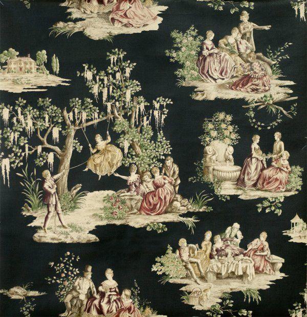 1800 S Colonial Scene On Demand: 18Th Century Wallpaper