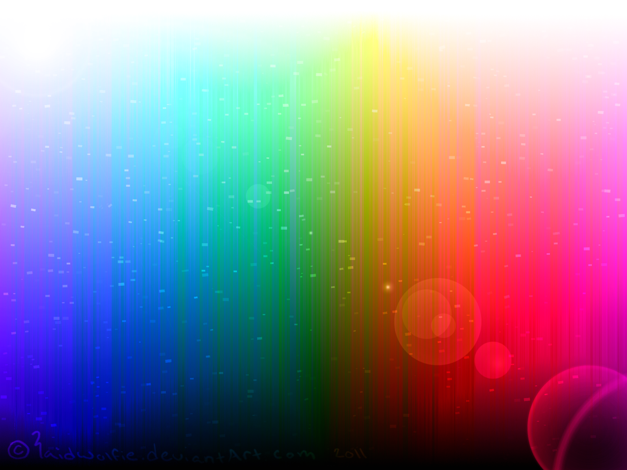 Esoteric Rainbow Background by CharcoalBubbles 2000x1500