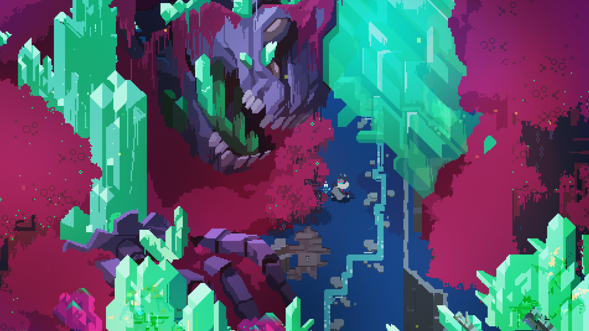 Hyper Light Drifter Game Wallpaper 61526 1920x1080px 1920x1080