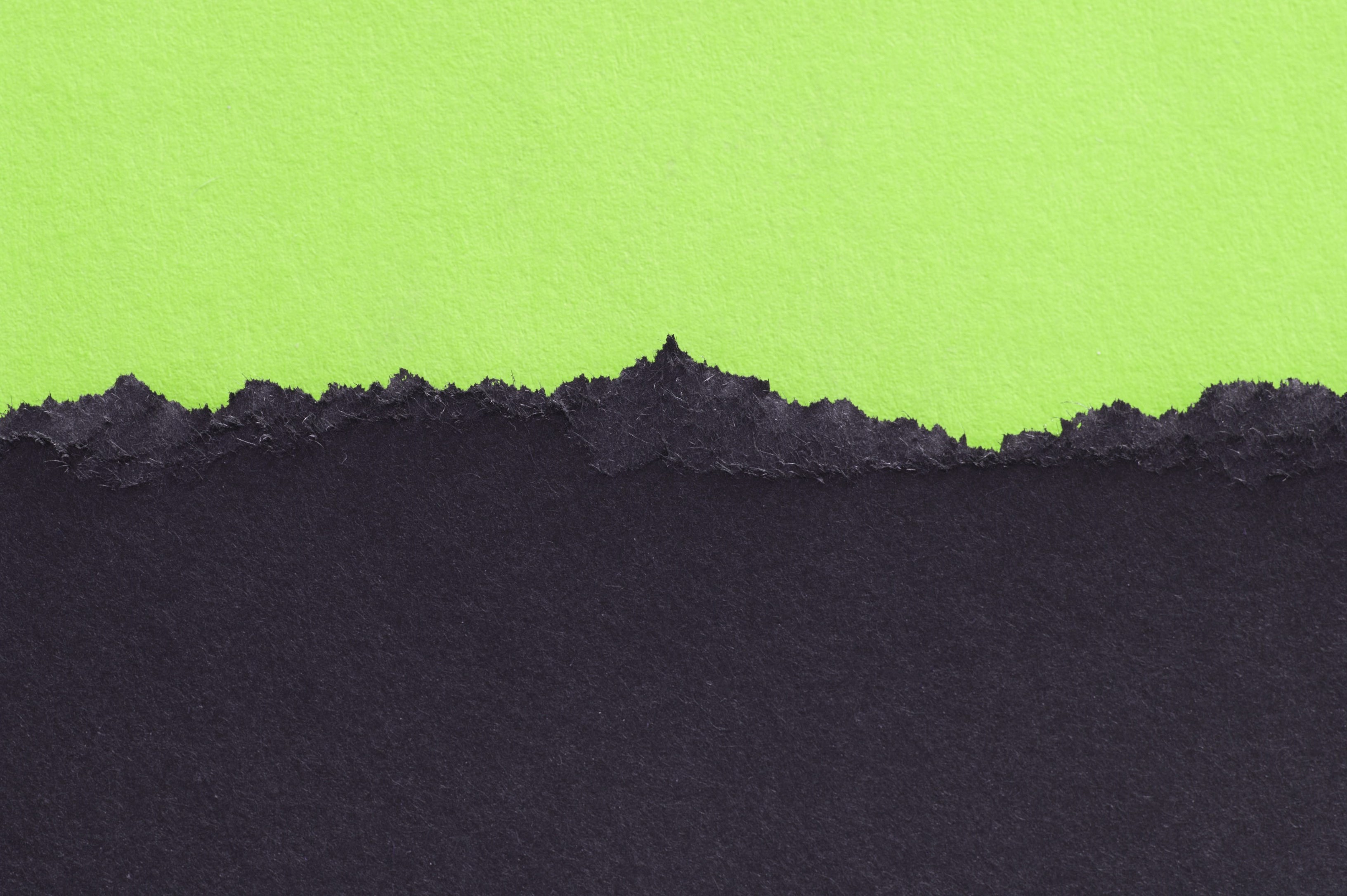 Image Collections Paper green torn paper 3264x2172