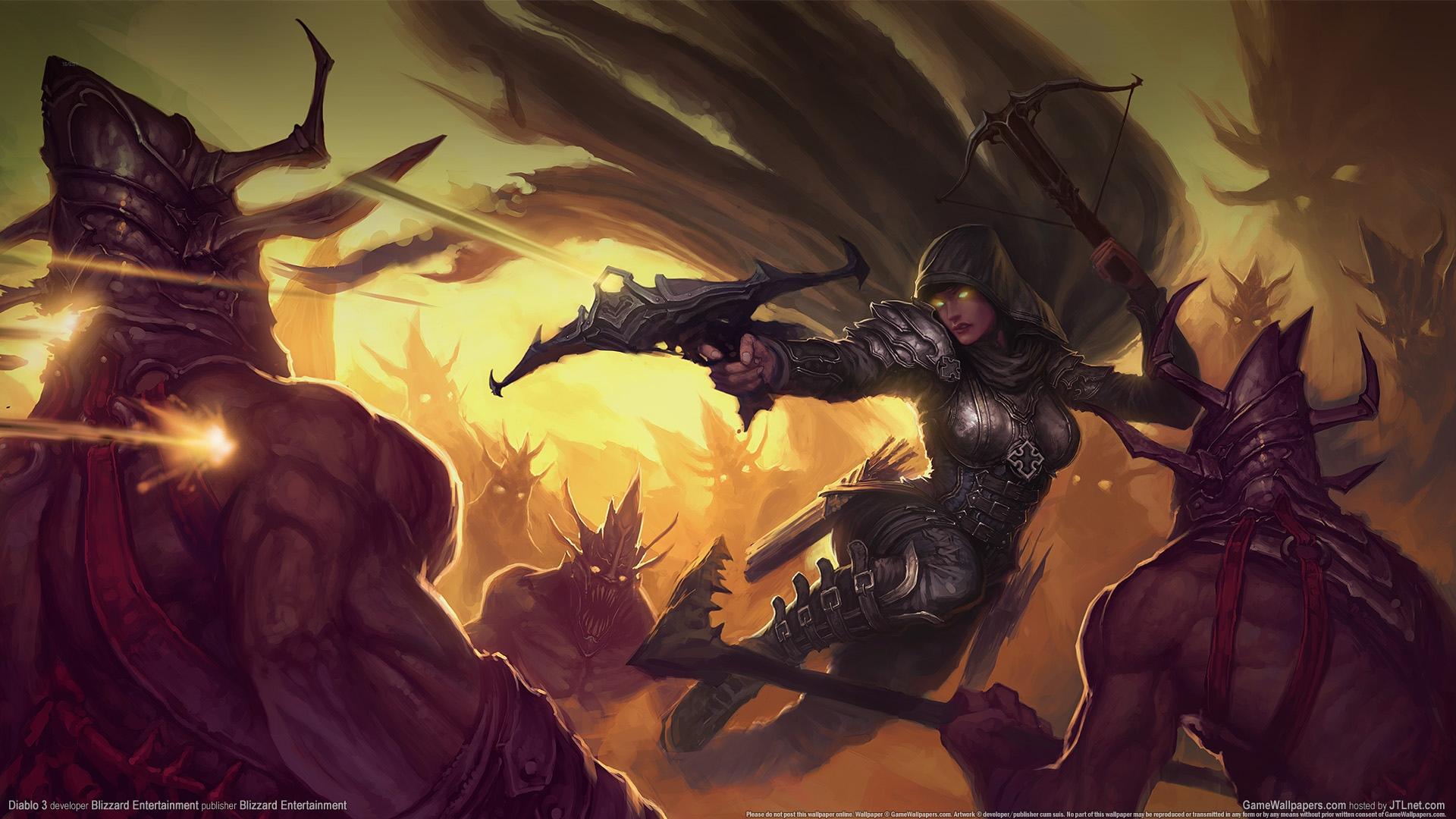 Free Download Diablo 3 Demon Hunter Wallpaper 202977 1920x1080