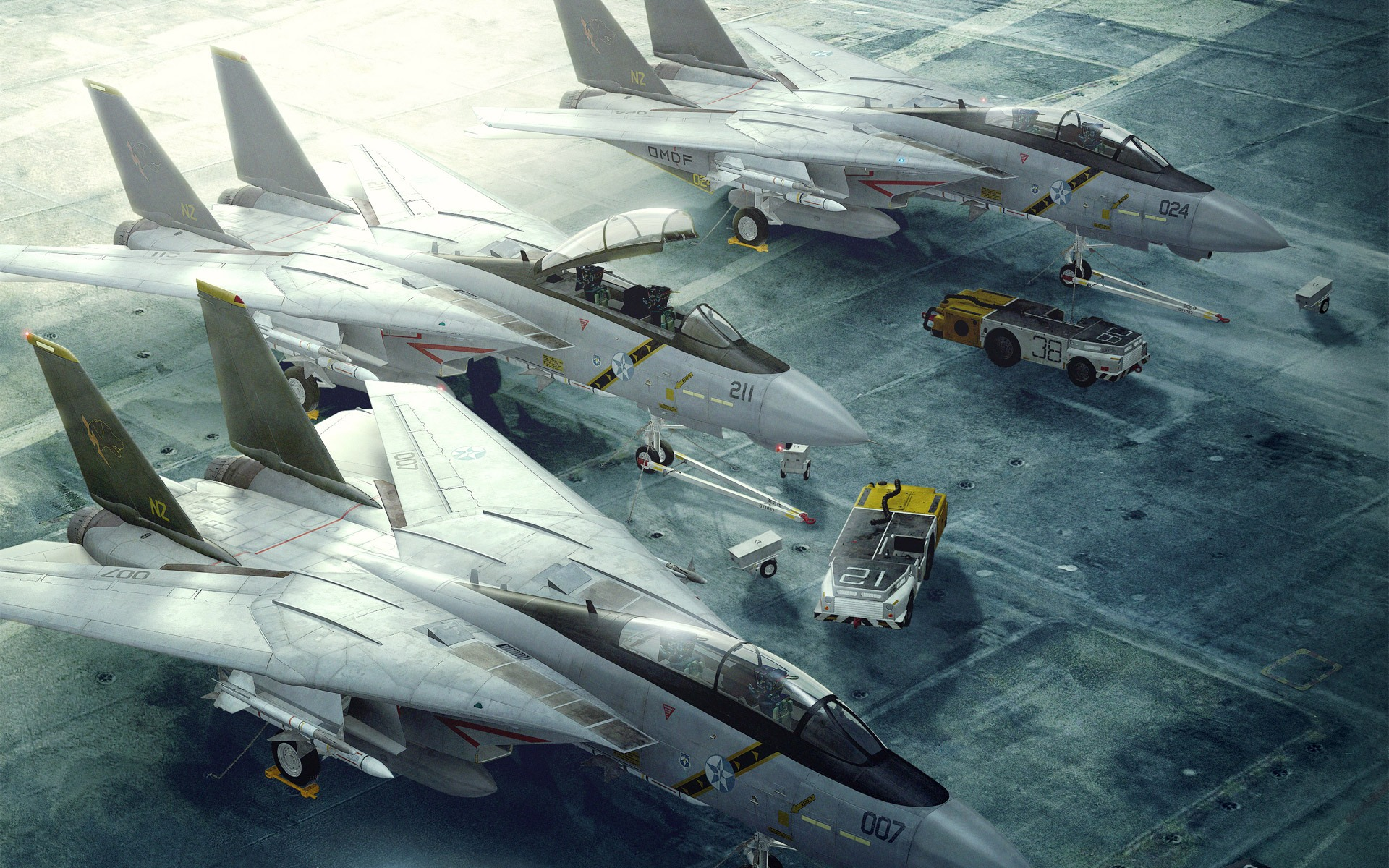 Aircraft Carrier Jets desktop wallpaper 1920x1200