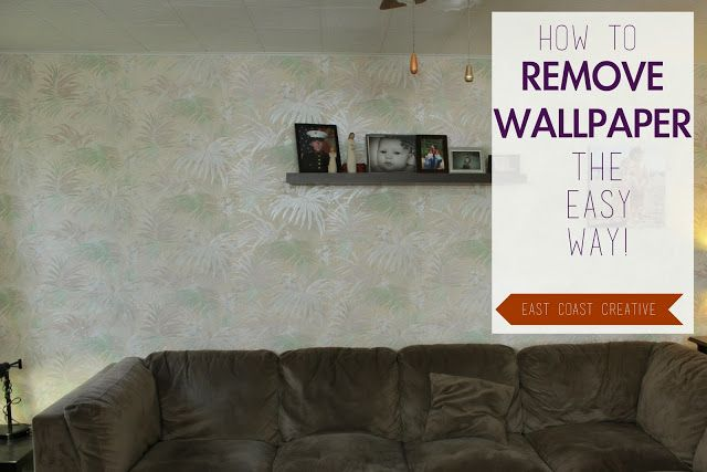 How to Remove Wallpaper the Easy Way DIYs to Try Pinterest 640x427