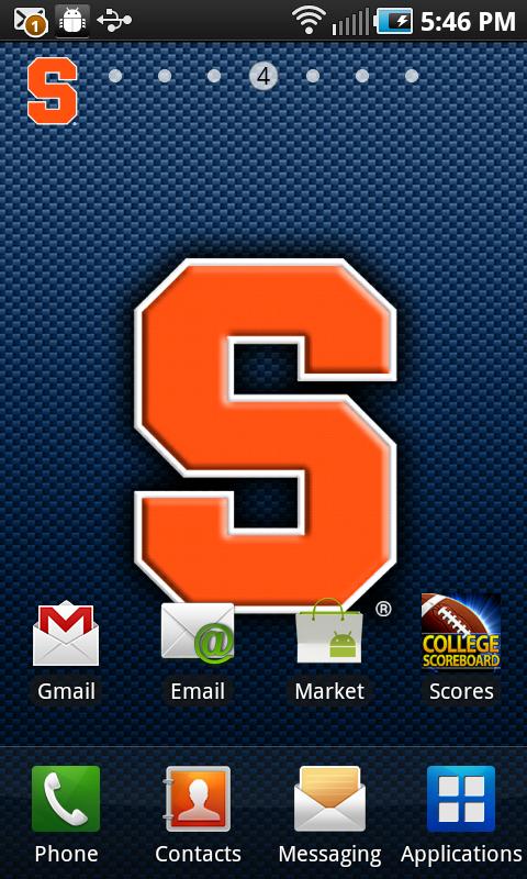 Syracuse Orange Revolving Wallpaper Amazonca Appstore 480x800