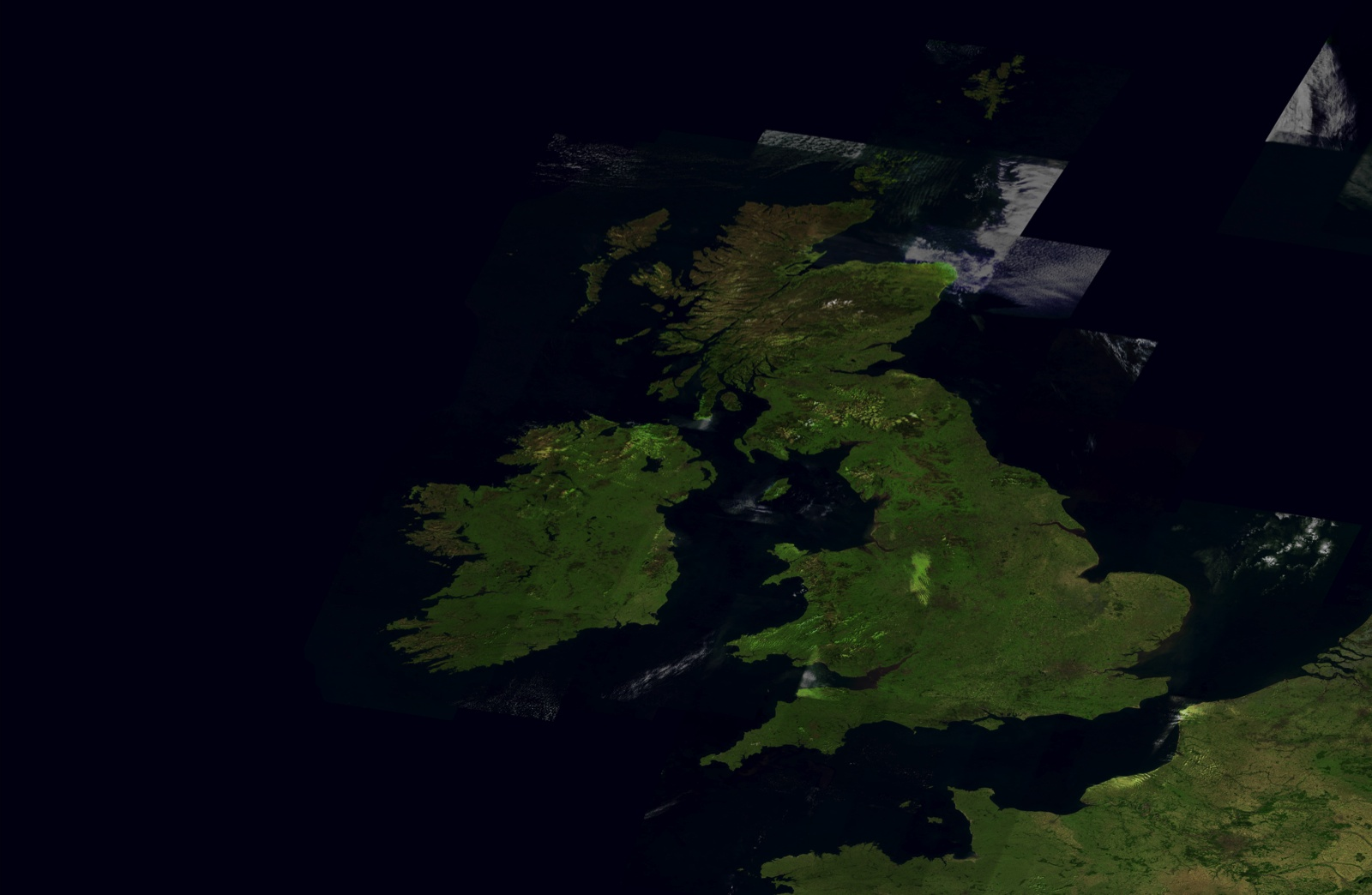Britain From Above Satellite Images of the UK from Space 1600x1044