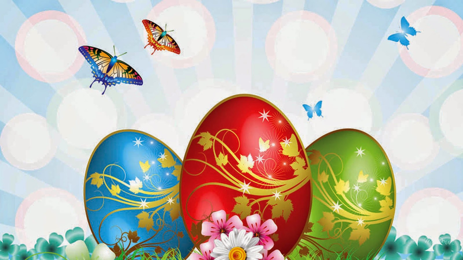 Easter Eggs Images Download 9To5AnimationsCom 1600x900