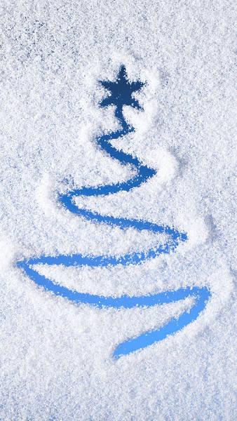 Christmas Snowy iPhone 6S Plus Wallpaper 338x600