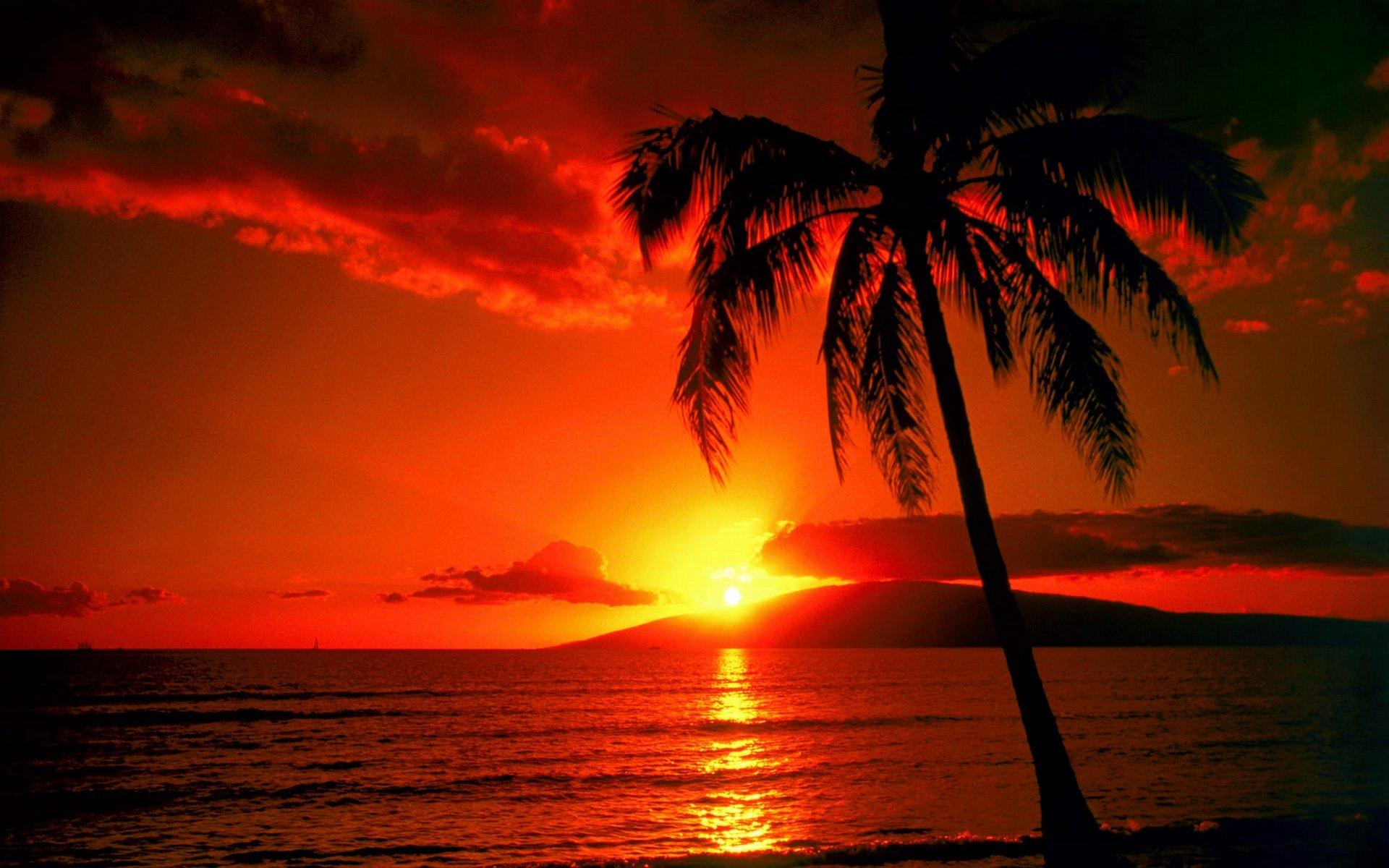 Sunset Beach HD Wallpapers | Beach sunset Desktop Images |