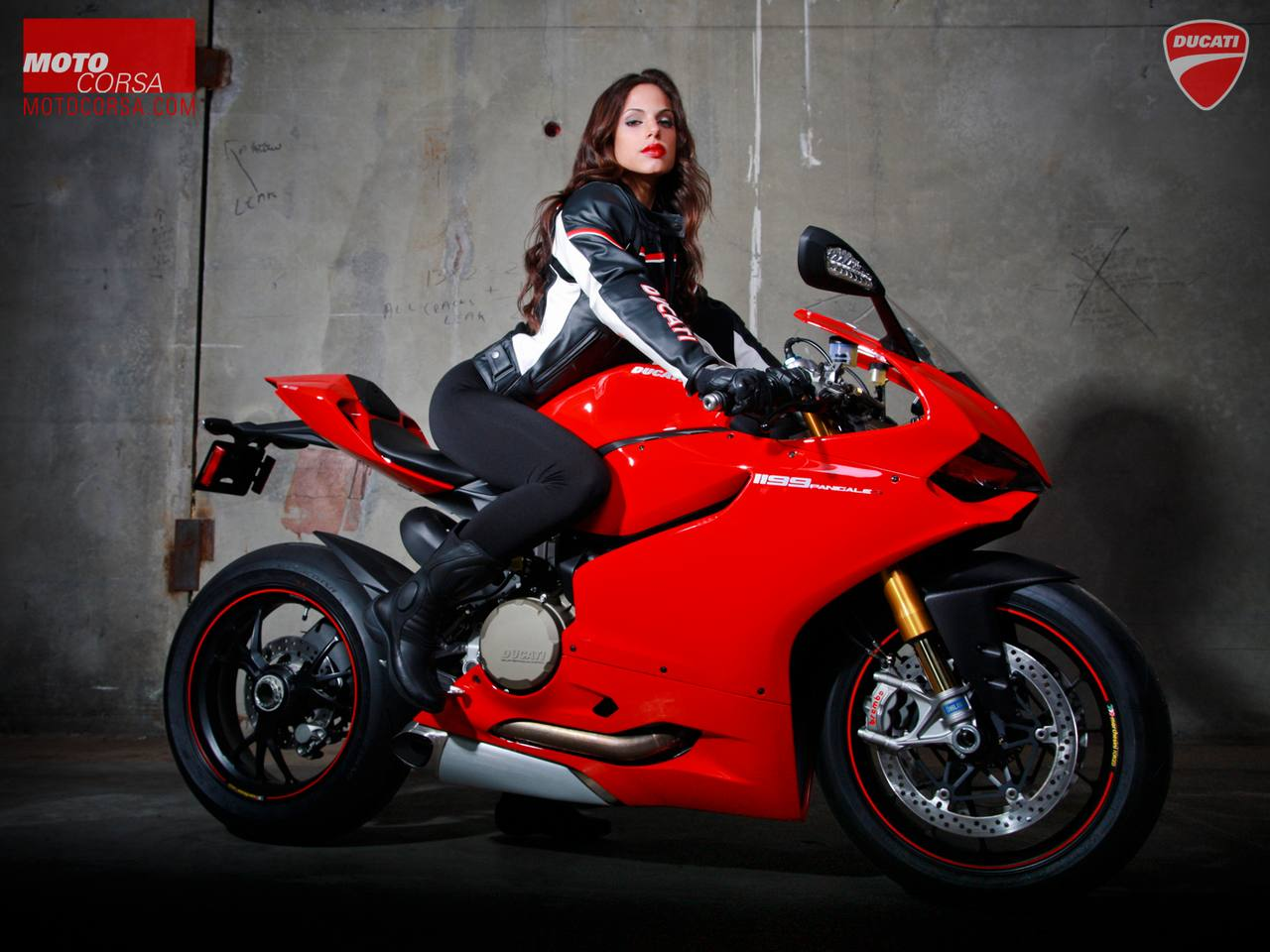 Ducati Panigale Girl 24190 Hd Wallpapers in Bikes   Imagescicom 1280x960