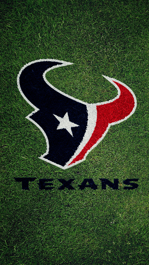 Houston Texans field logo Wallpaper by texasOB1 600x1065